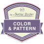 Be a Better Birder 2: Color and Pattern badge